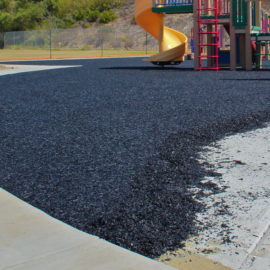 Poured-in-Place Rubberized Surfacing (PIP)