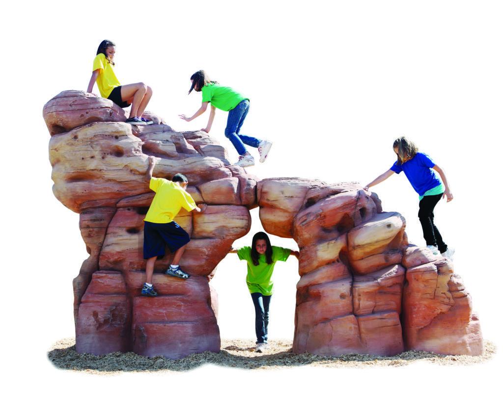 Medium & Large Sandstone Back View
