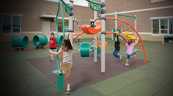 Commercial Playgrounds Equipment